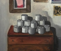 Deborah Pohl Still Lifes Oil on panel