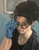 Deborah Pohl Figures and Portraits Oil on panel