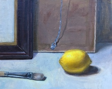 Deborah Pohl  Still Lifes Oil on linen panel