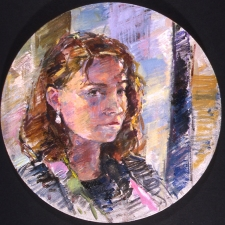 Deborah Sherman Portraits and Figures oil on canvas