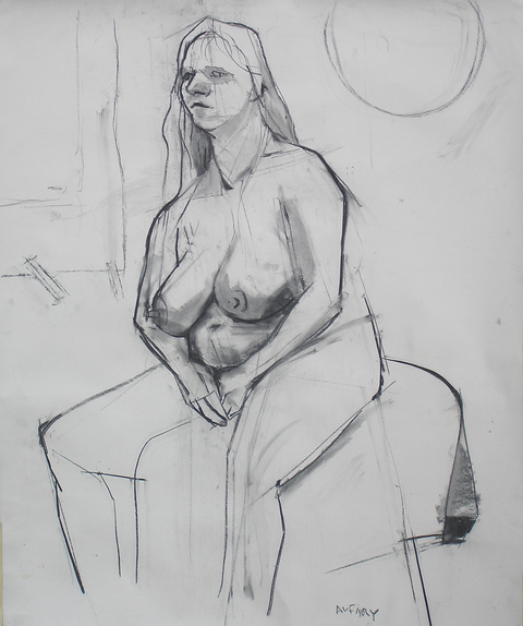 Dennis Aufiery Full Figure charcoal