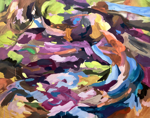 DIANE CARR Paintings oil on canvas