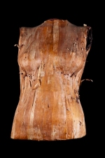 Diane Gabriel Sculpture Birch bark, encaustic, plaster