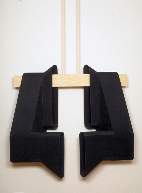 Diane Simpson Sleeves    (1996-2000) Industrial fiber, poplar, cotton webbing