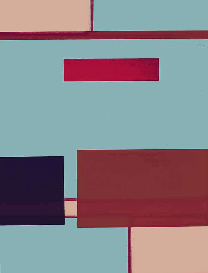 DAVID MITCHELL ABSTRACTS 2014 67 x 55 inches - Edition of 2