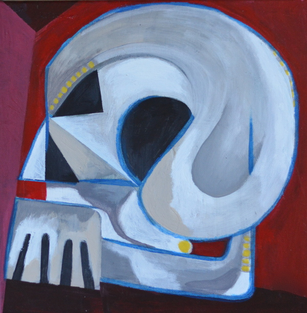 Domingo Carrasco Abstraction acrylic on canvas