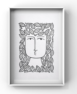 Domingo Carrasco Available Works Ink on Paper