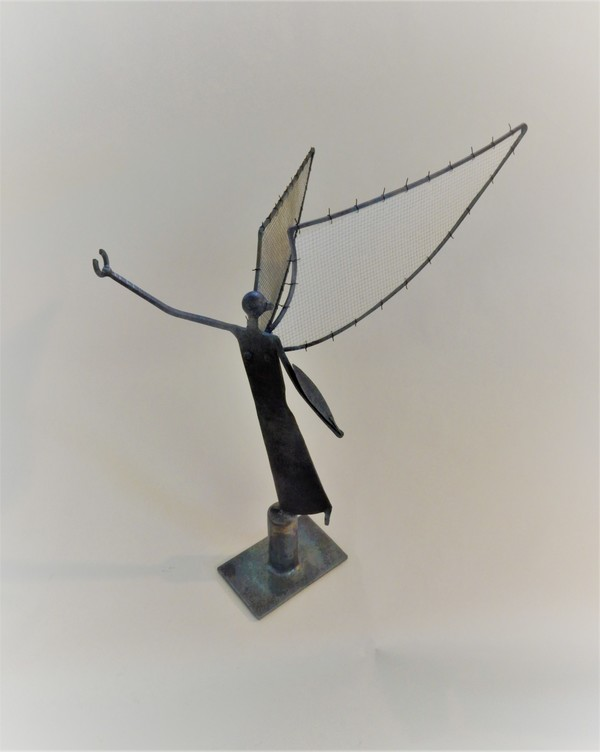 Dominick Di Lorenzo Sculptures Welded steel and fabric