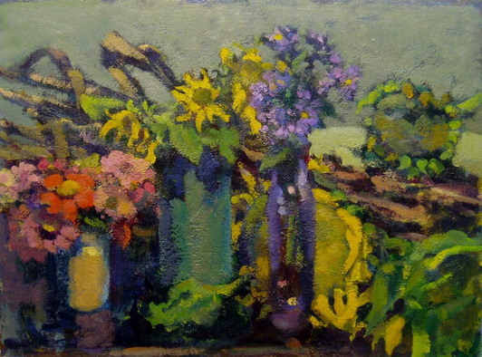 Don Wynn Still Life and Interior acrylic