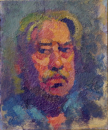 Don Wynn Portrait acrylic