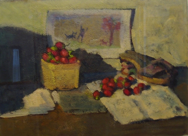 Don Wynn Still Life and Interior acrylic on paper