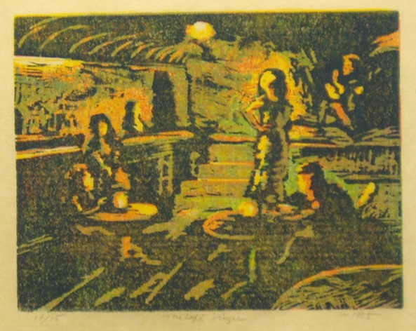 Don Wynn Prints woodcut