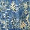 Encaustic Collagraphs on Washi Encaustic Collagraph