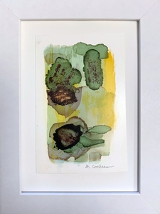DOROTHY COCHRAN SALE of SMALL WORKS Dispersion ink and pigment on Yupo paper