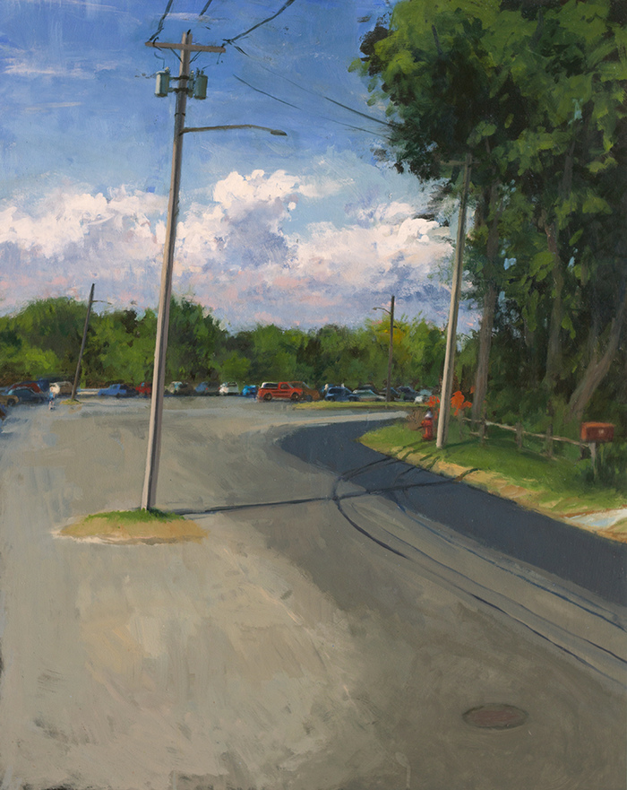 DOUG REINA Plein Air Oil on panel