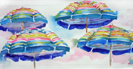 Nancy Tuttle Watercolor on paper watercolor