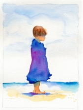 Nancy Tuttle Watercolor on paper