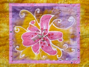 Nancy Tuttle Quilts & paintings Quilt