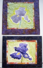 Nancy Tuttle Quilts & paintings Painting & quilt