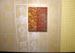 Greg Drasler Jesus Wallpaper latex plus paintings