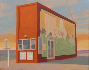 Greg Drasler Road House  oil on linen