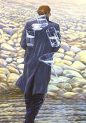 Greg Drasler Figure Paintings oil on canvas