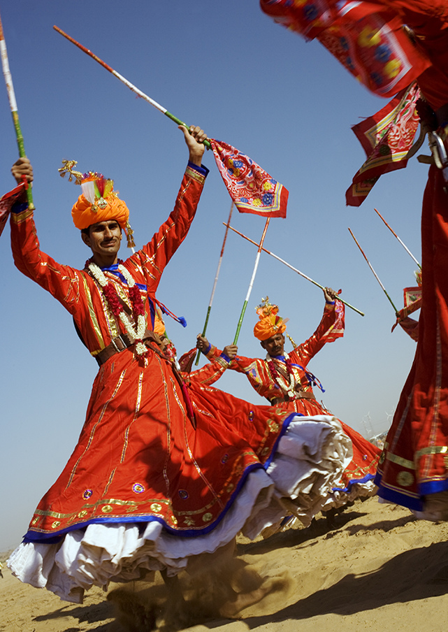 The Fabric of Rajasthan. Travel Story in India.