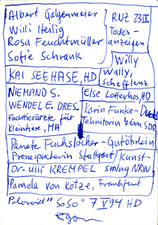 EGON ZIPPEL / Online Archive Names (real ones!)
