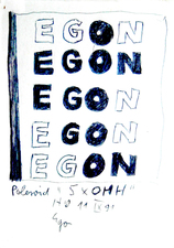 EGON ZIPPEL Egon Poems