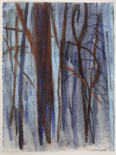 Eileen Gillespie Works on Paper pastel on paper