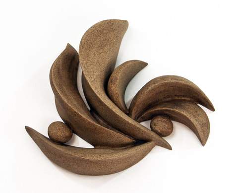 Elaine Lorenz Wall Sculptures Ceramic