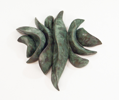 Elaine Lorenz Wall Sculptures Glazed Ceramic