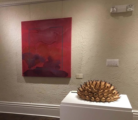 Elaine Lorenz Forms and Layers Exhibition