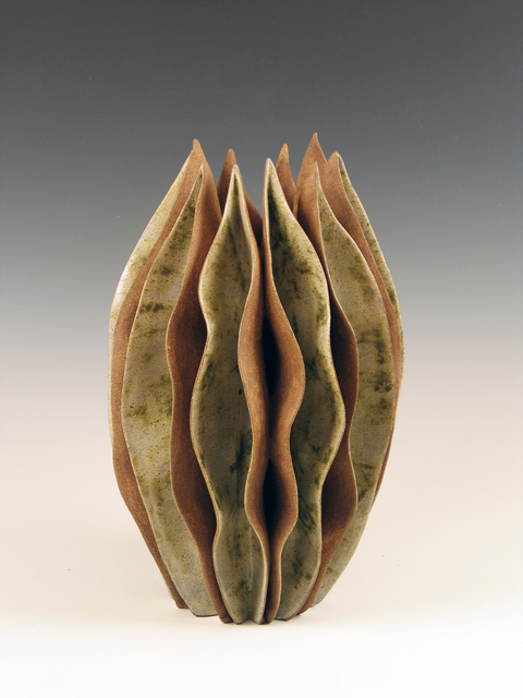 Elaine Lorenz Organic Abstracts Glazed ceramic