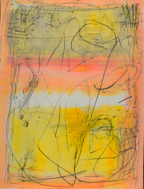 elaine souda Small Works 2015-17 Acrylic on Paper