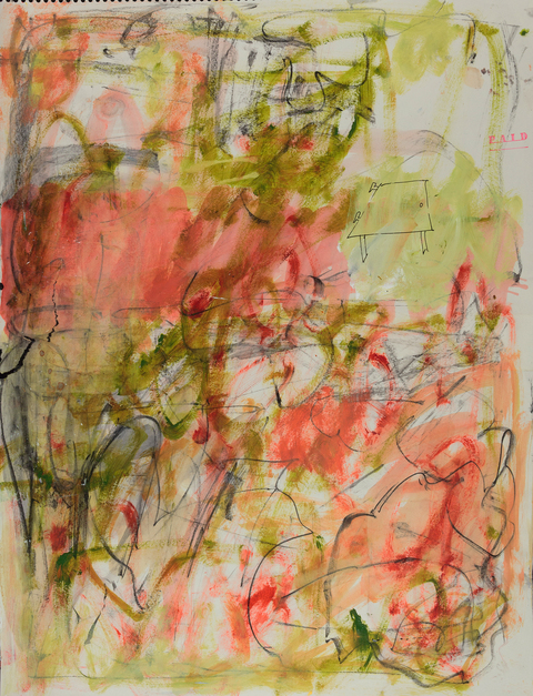 elaine souda Paintings on Paper 2015-17 Acrylic on Paper