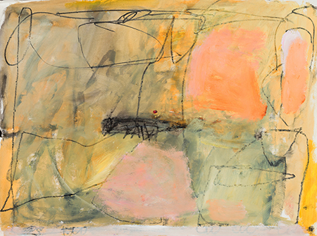 elaine souda Paintings on Paper 2015-17 Acrylic and Ink on Paper