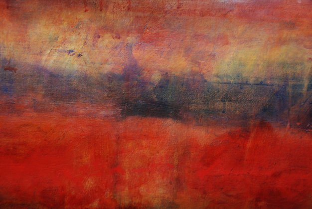New Work 2017-19 Big Sky Red Dunes Ocean - Detail