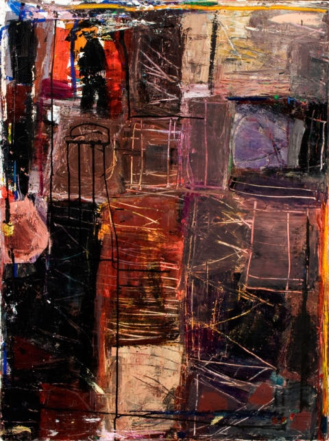 elaine souda Dreams of Manhattan Paintings Acrylic on Canvas
