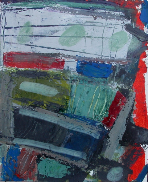 elaine souda Paintings: Dreams of Manhattan Acrylic on Paper