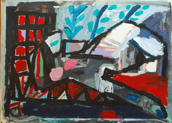 elaine souda Paintings on Paper: Miami & NYC Acrylic on Canvas