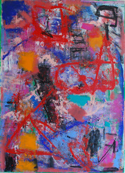 elaine souda Paintings on Paper: Miami & NYC Acrylic on Paper