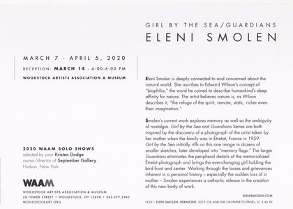 ELENI SMOLEN WAAM Solo March 2020