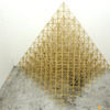EARTHQUAKE basswood pyramids, museum wax