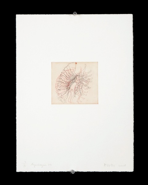 Elisabeth Haly Meyer Apologia aquatint