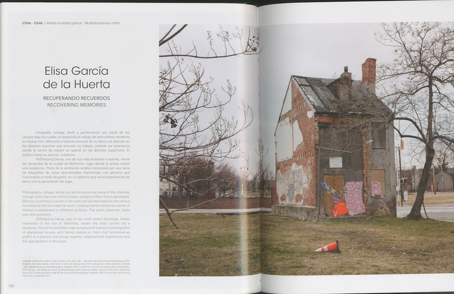 "Press Arte al Limite Magazine, ""Lost Experiences"" by Carolina Schmidt, Edition number 65, March, 2014"