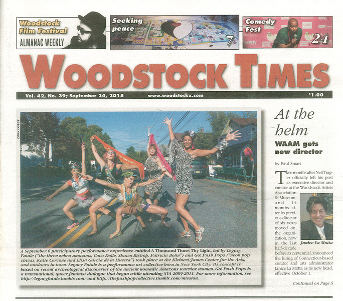Press Woodstock Times, sept 24, 2015