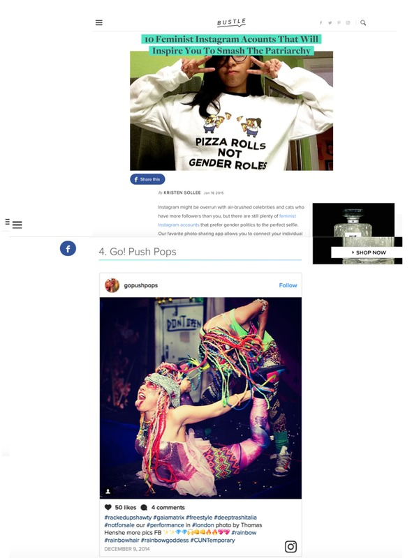 Press 10 Feminist Instagram Acounts That Will Inspire You To Smash The Patriarchy By KRISTEN SOLLEE Jan 17 2015