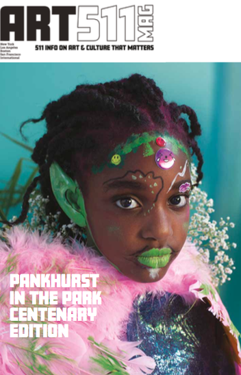 Press ART 511 Magazine special edition in collaboration with Pankhurst in the Park Centenery Edition