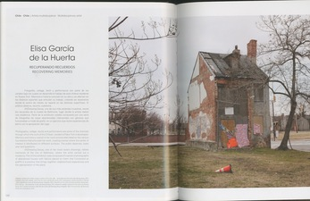 "Arte al Limite Magazine, ""Lost Experiences"" by Carolina Schmidt, Edition number 65, March, 2014"